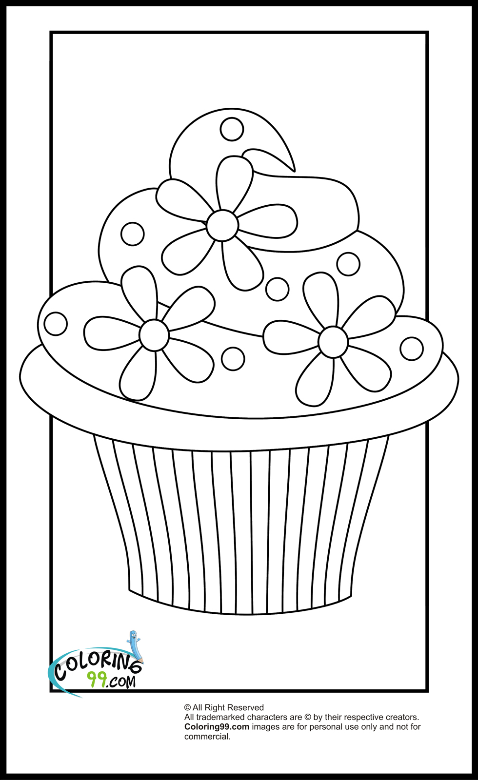 cup cake coloring pictures cupcakes hello kitty simple cupcakes adult coloring pages pictures cup cake coloring
