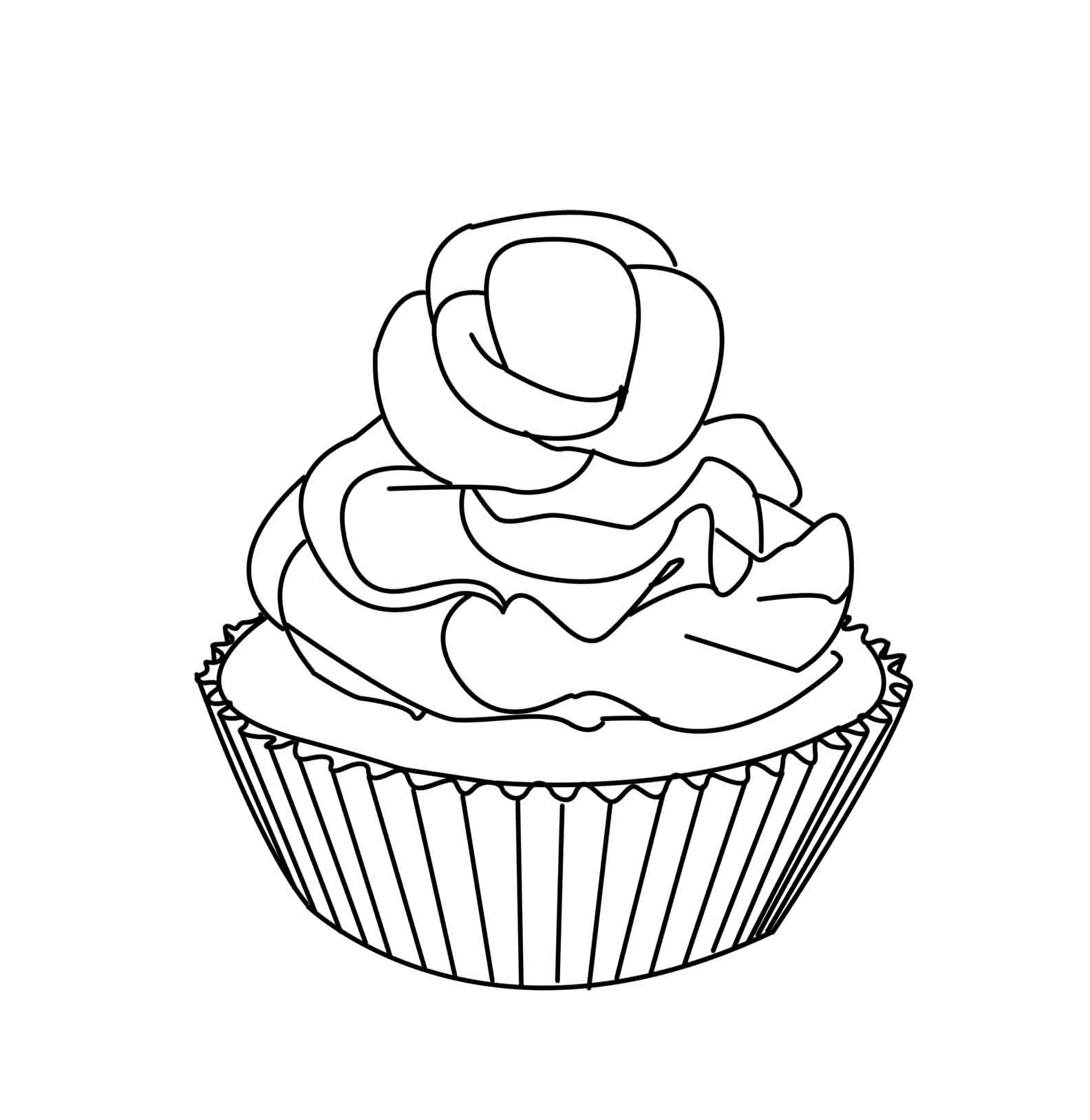 cup cake coloring pictures free easy to print cupcake coloring pages tulamama pictures coloring cake cup