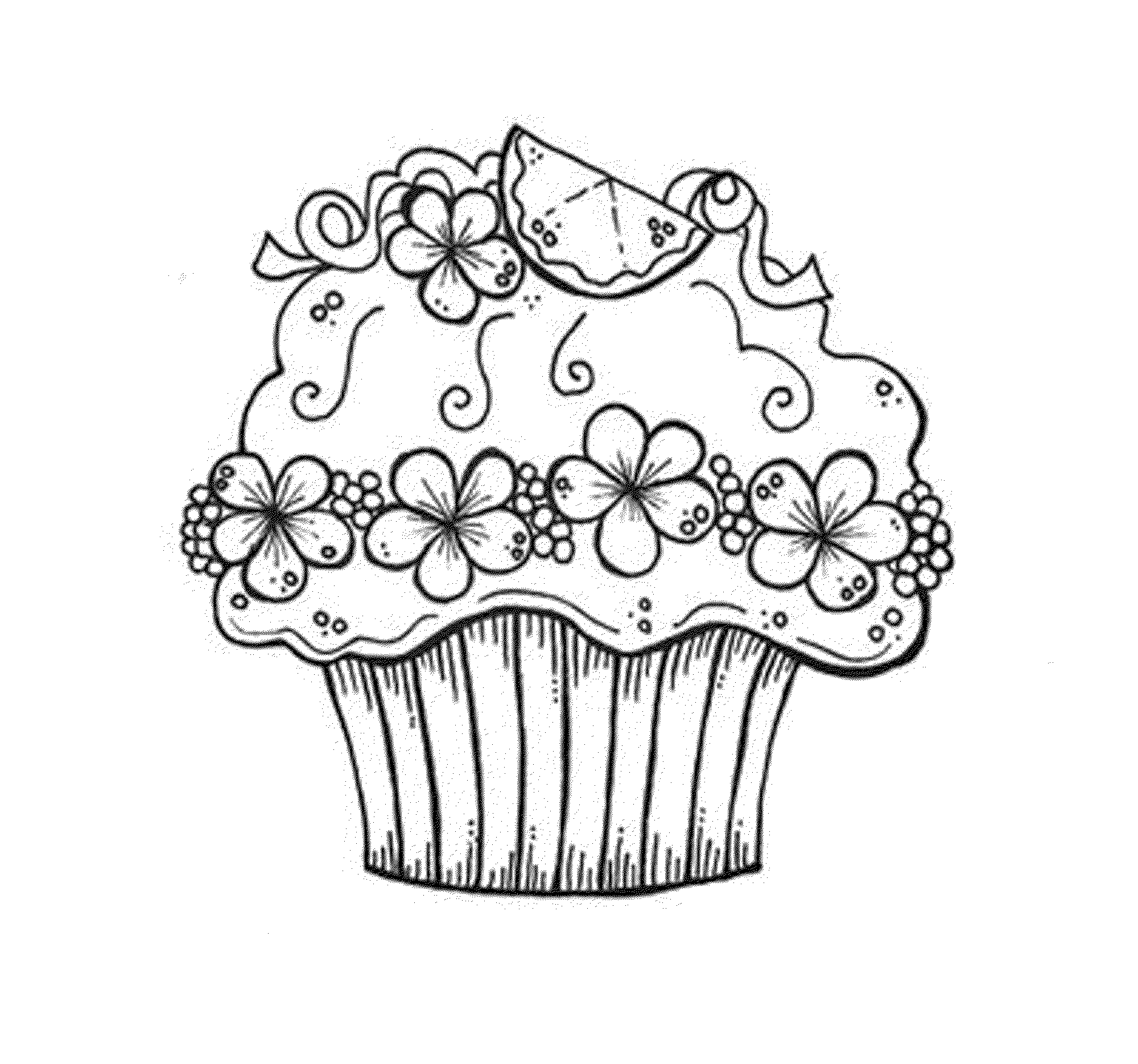 cup cake coloring pictures free printable cupcake coloring pages for kids cool2bkids cup pictures coloring cake