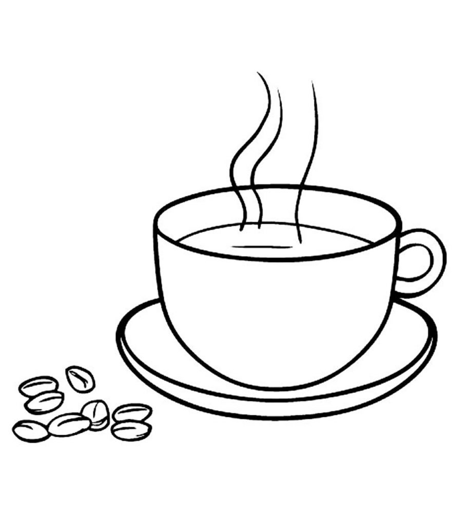 cup coloring page 10 coffee coloring pages for your little coffee lover page cup coloring