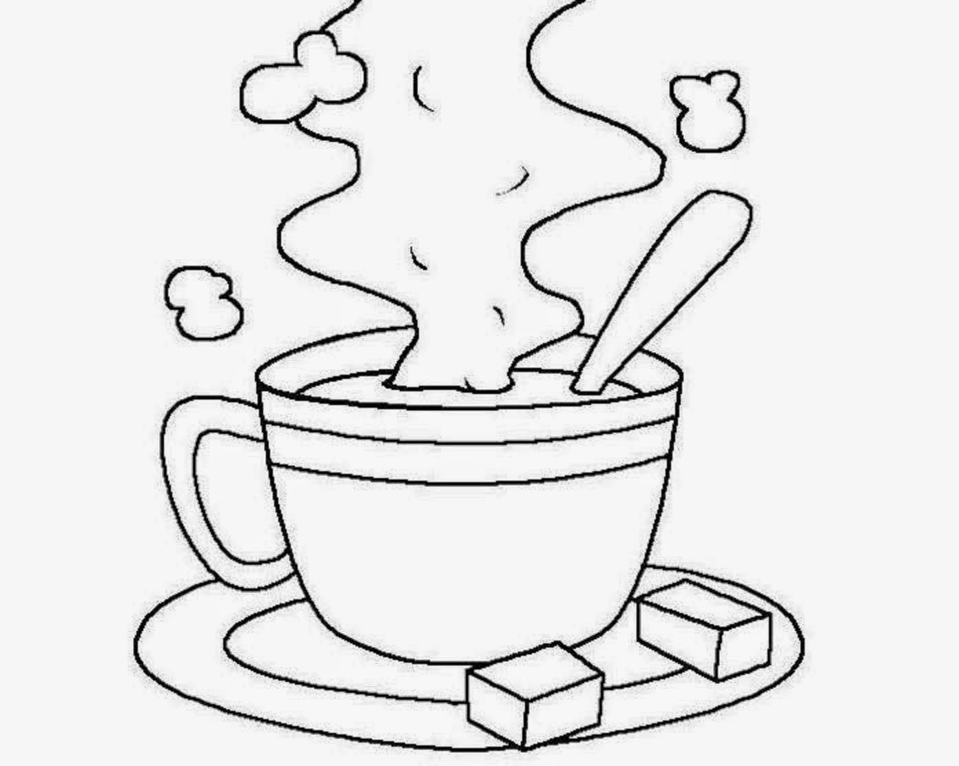 cup coloring page coffee coloring pages kidsuki coloring cup page