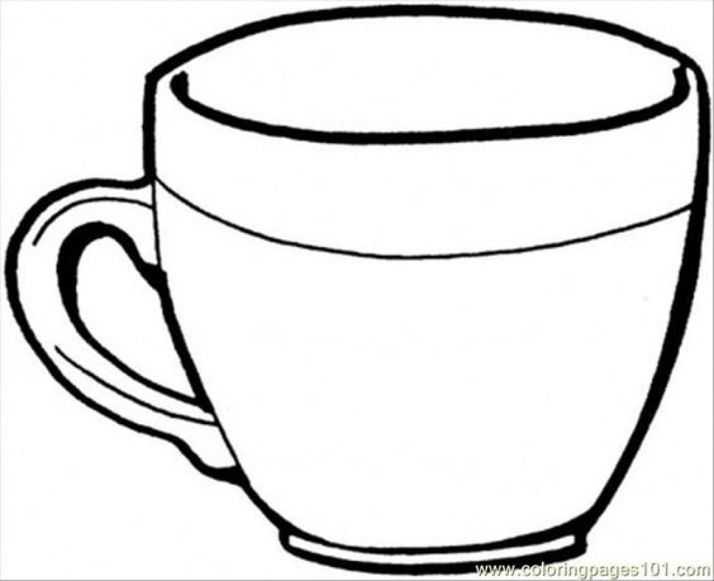 cup coloring page coffee cup coloring pages at getdrawings free download cup coloring page