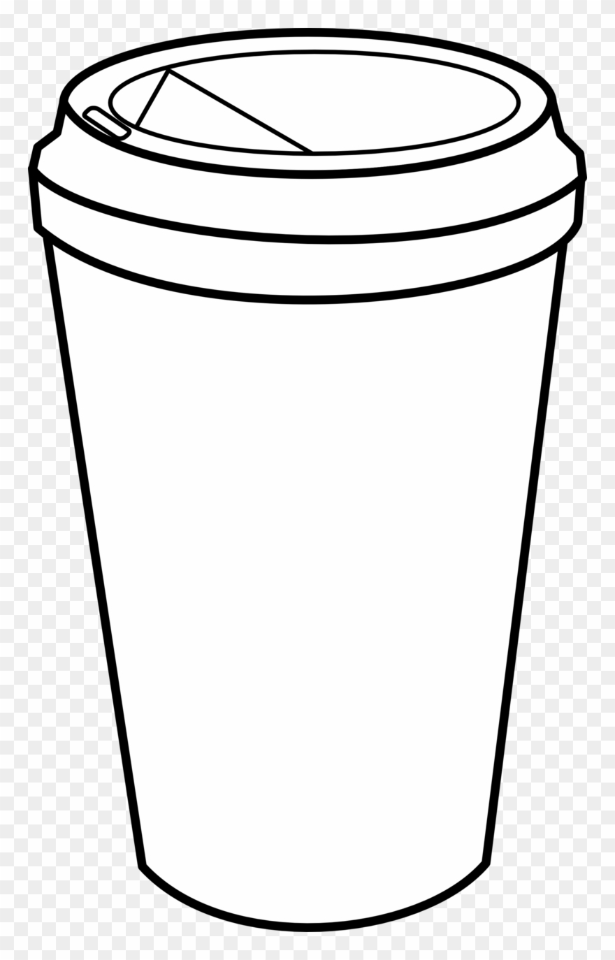 cup coloring page cups clipart tumbler cup cups tumbler cup transparent page cup coloring