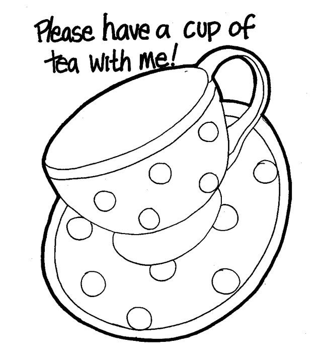 cup coloring page tea cup and saucer drawing sketch coloring page page cup coloring