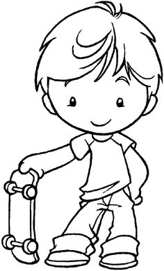 cute boys coloring pages black and white happy boy clip art boy images black pages boys coloring cute
