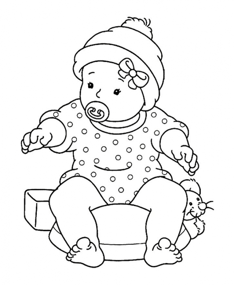 cute boys coloring pages free printable baby coloring pages for kids pages boys cute coloring