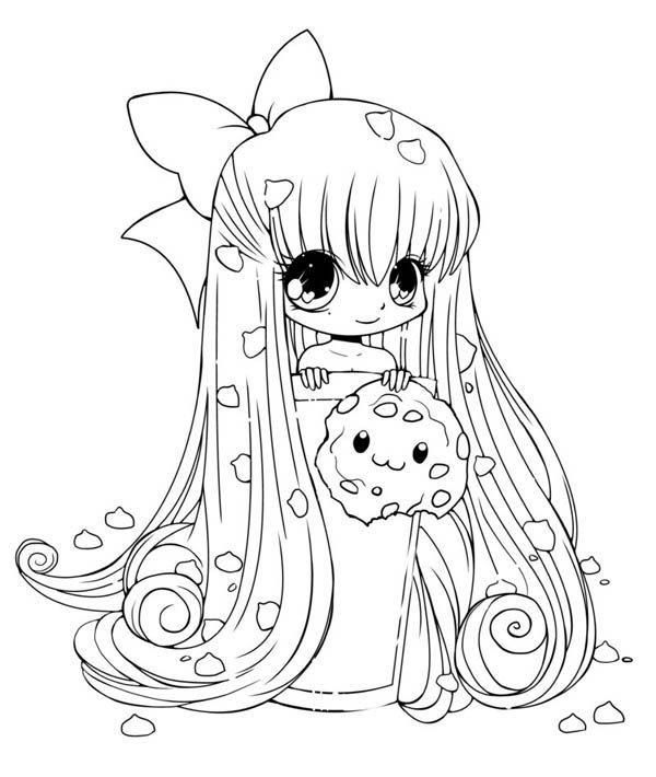 cute chibi girl coloring pages anime chibi princess coloring pages coloriage manga coloring chibi cute girl pages