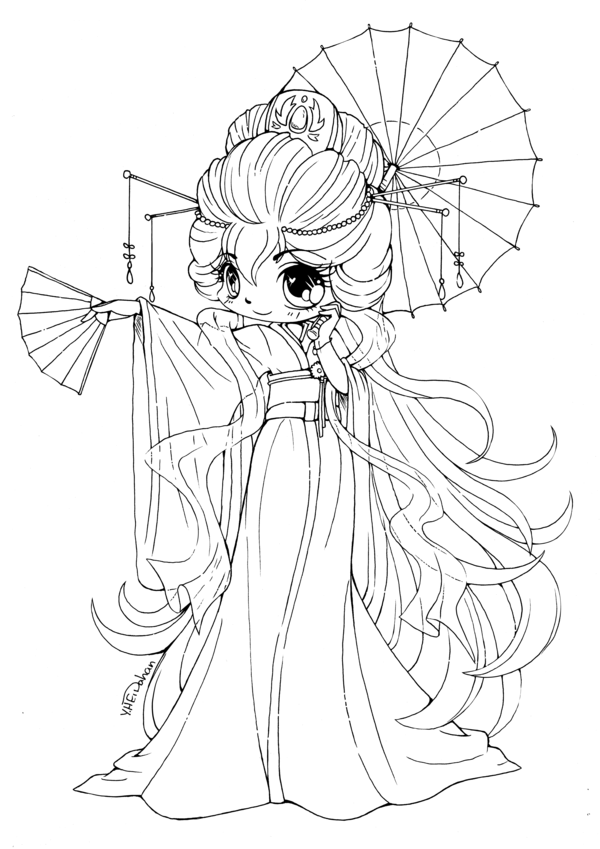 cute chibi girl coloring pages anime girl coloring pages coloringbay pages coloring cute girl chibi