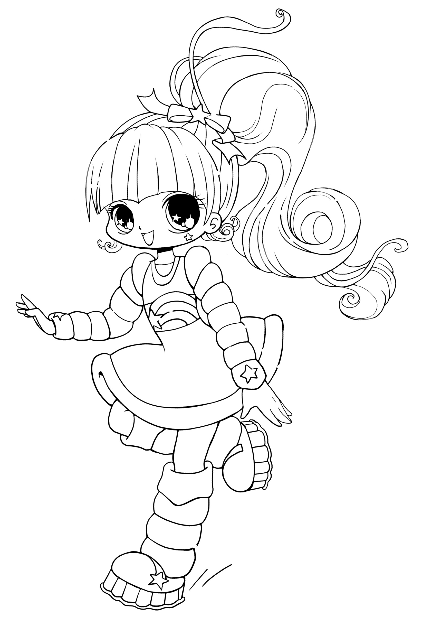 cute chibi girl coloring pages chibis free chibi coloring pages yampuff39s stuff coloring pages chibi cute girl 1 1