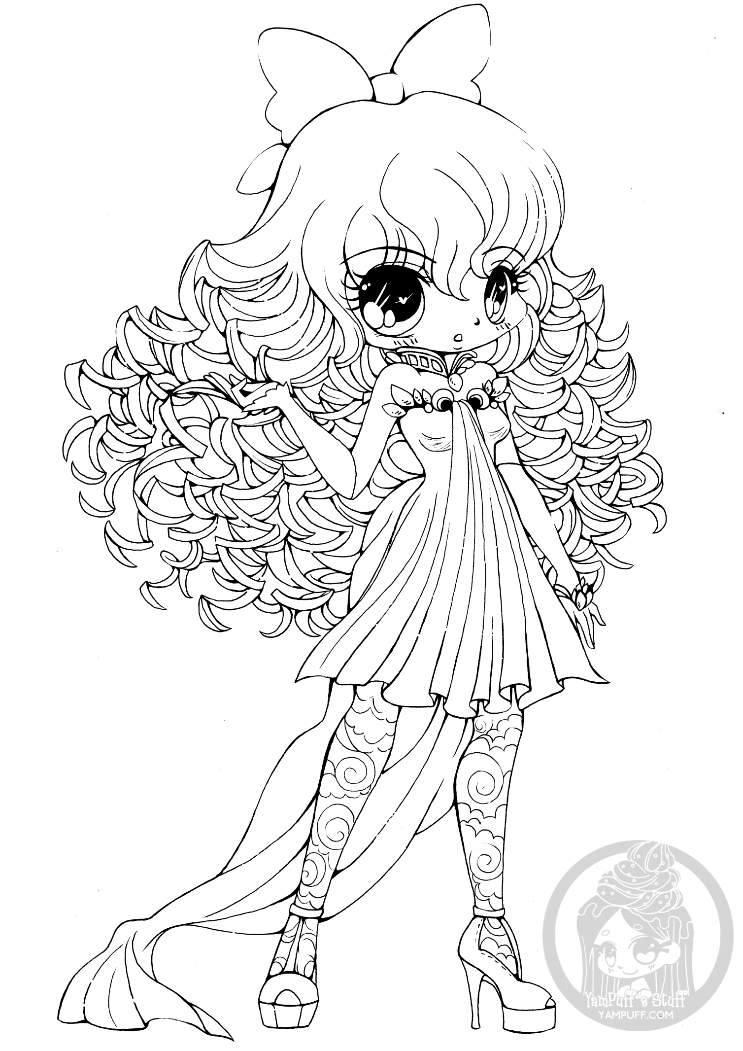 cute chibi girl coloring pages cute chibi coloring pages free coloring pages for kids 21 girl coloring cute pages chibi