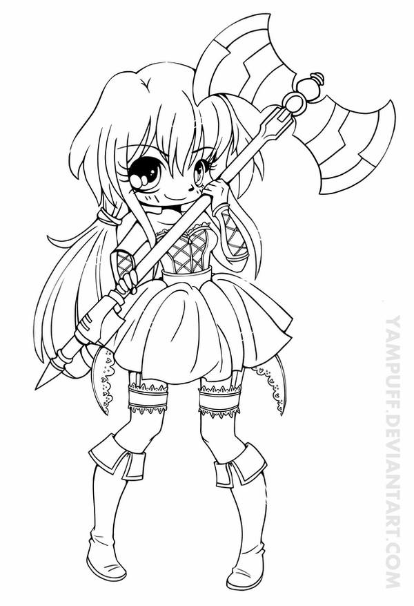 cute chibi girl coloring pages free printable chibi coloring pages for kids chibi pages coloring girl cute