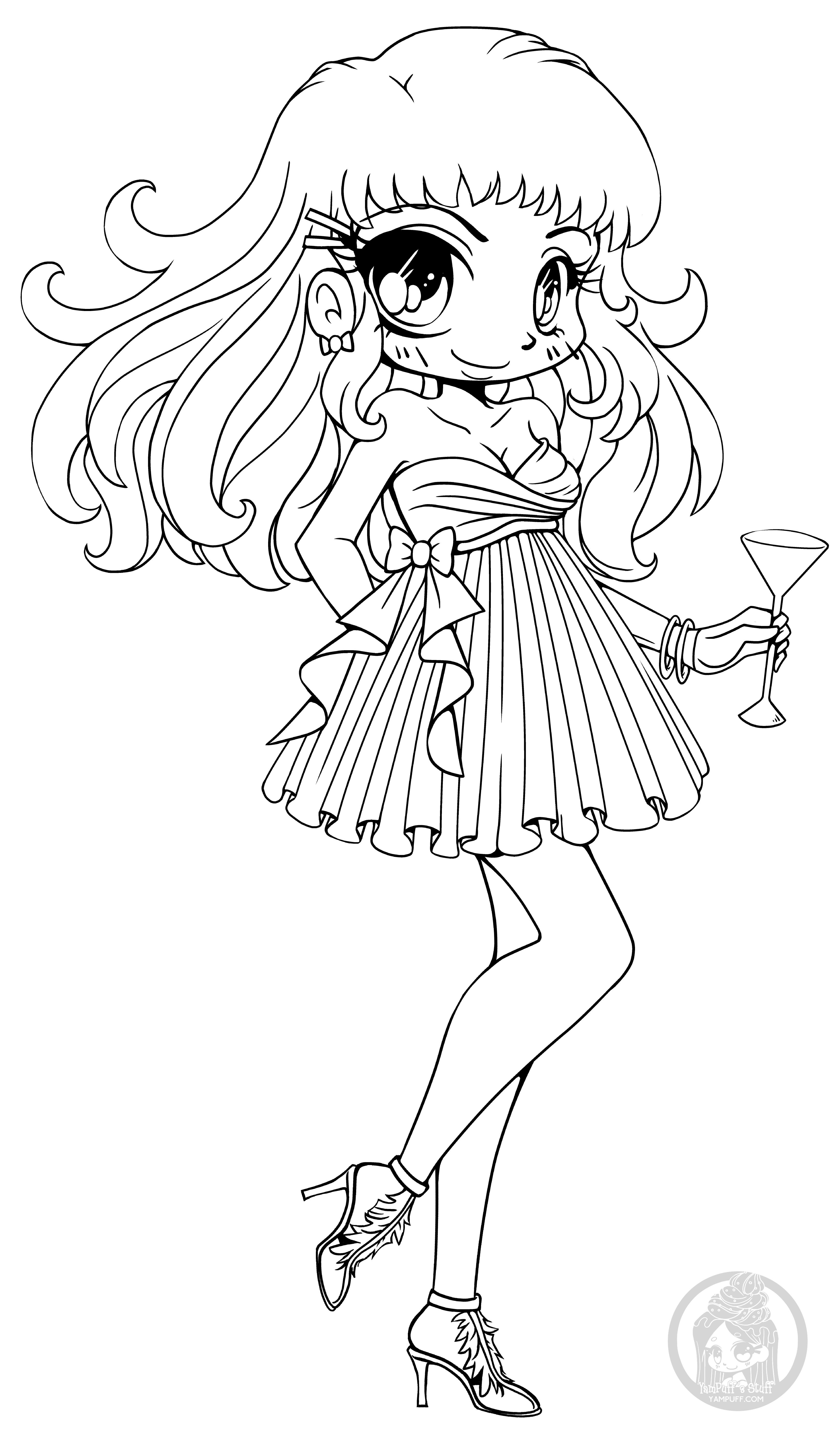 cute chibi girl coloring pages keicea by sureya on deviantart chibi coloring pages pages girl coloring chibi cute