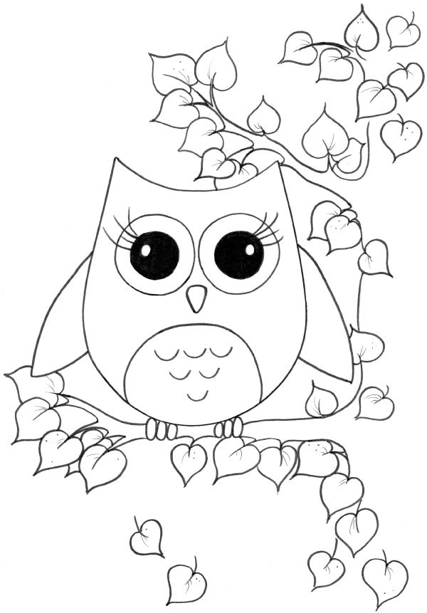 cute coloring pages of owls baby owls coloring sheet to print coloring of pages cute owls