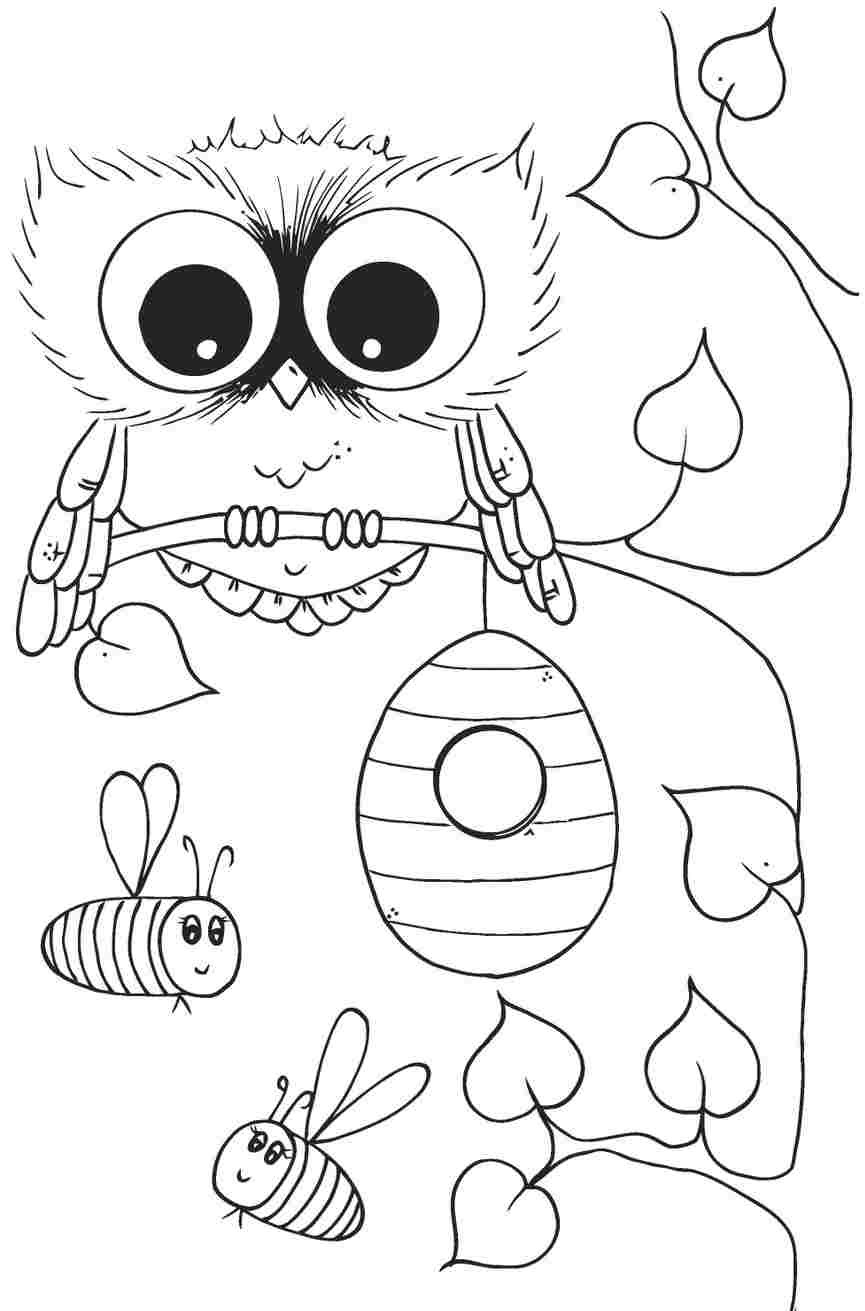 cute coloring pages of owls coloring pages for girls owls at getcoloringscom free of cute pages coloring owls