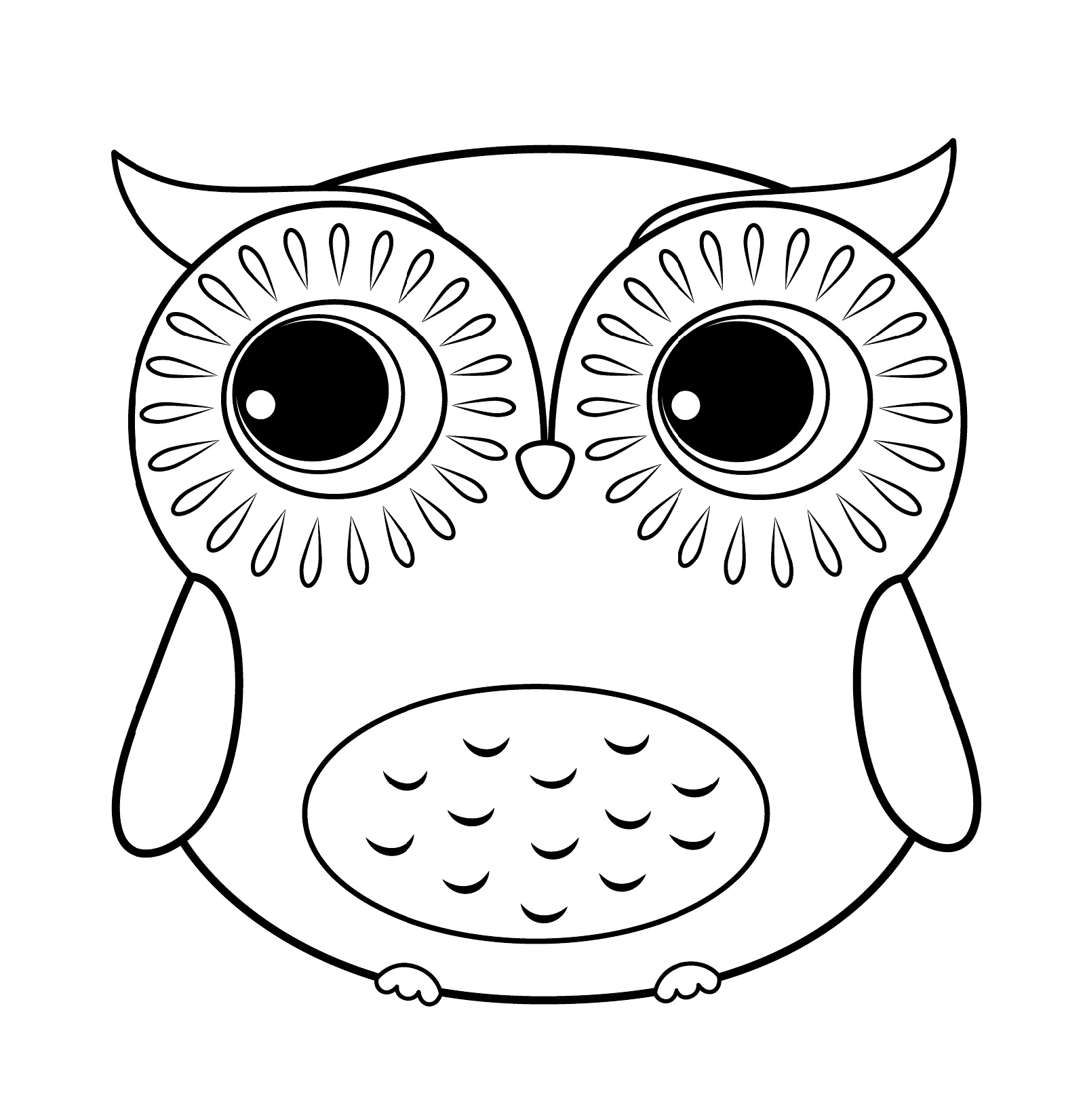 cute coloring pages of owls cute owl coloring page free printable coloring pages owls coloring pages of cute