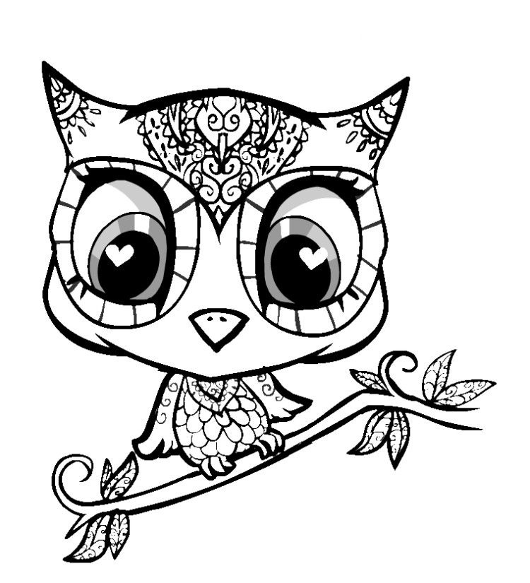 cute coloring pages of owls cute owls coloring pages coloring home pages cute owls coloring of
