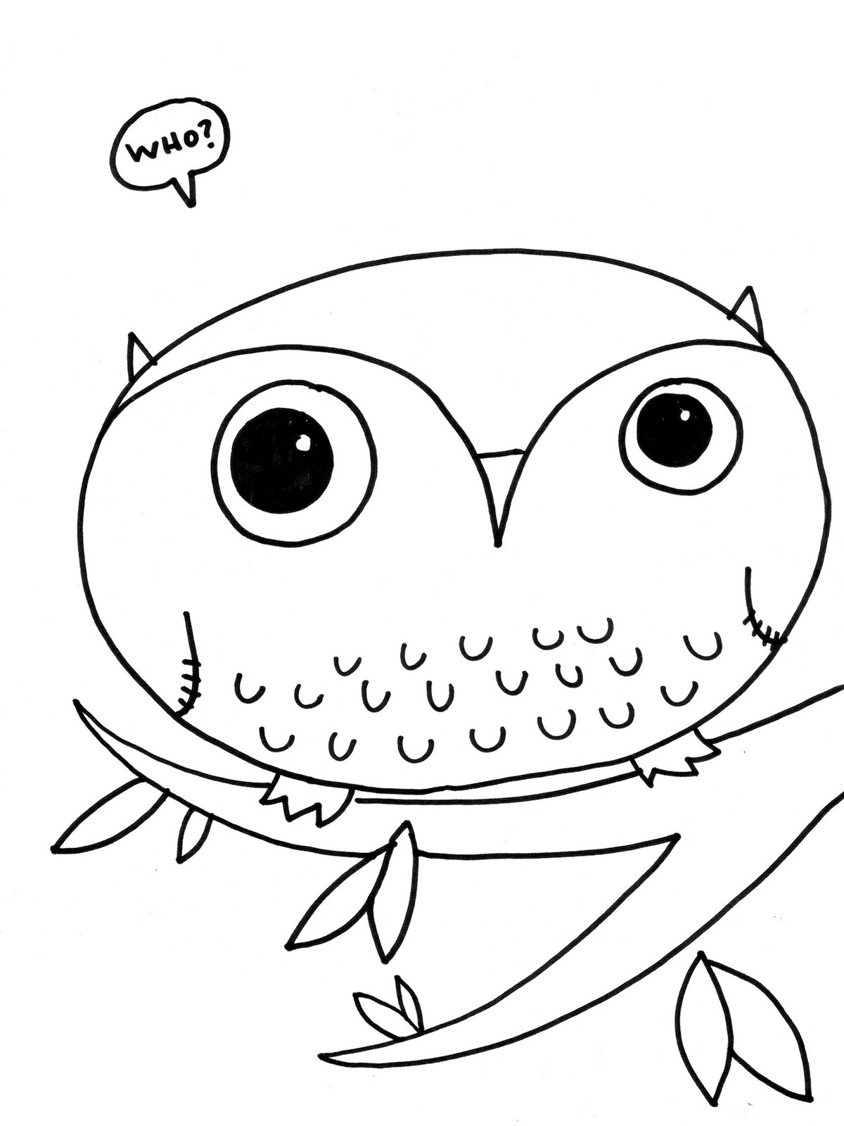 cute coloring pages of owls easy cute owl drawing at getdrawings free download pages coloring cute owls of