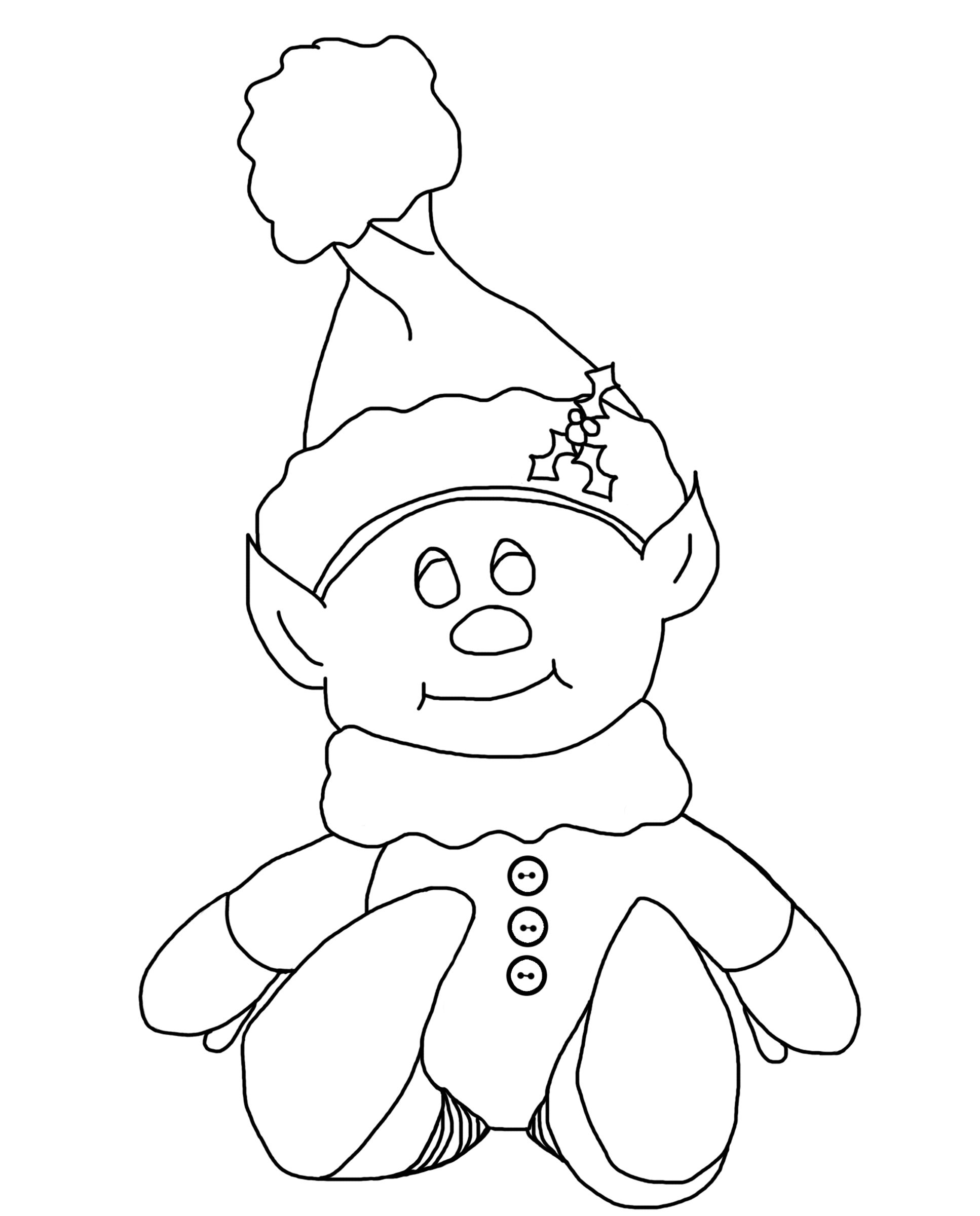 cute elf coloring pages cute elf coloring pages coloring cute pages elf