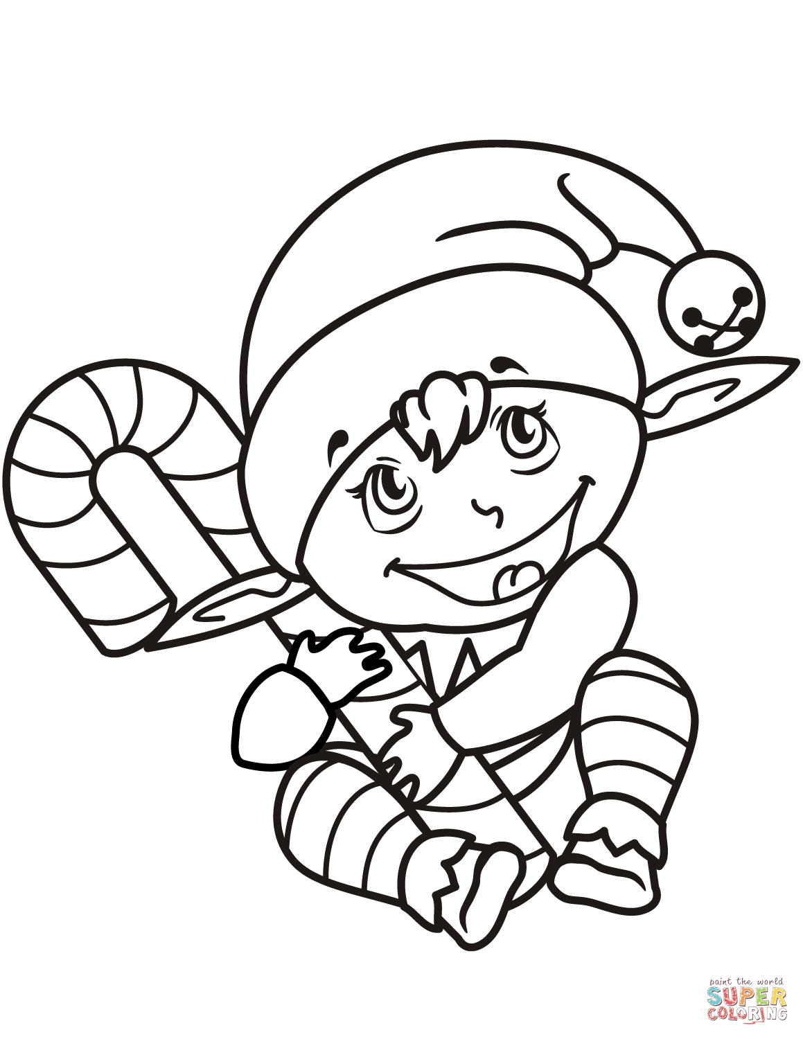 cute elf coloring pages cute elf coloring pages coloring home elf coloring cute pages
