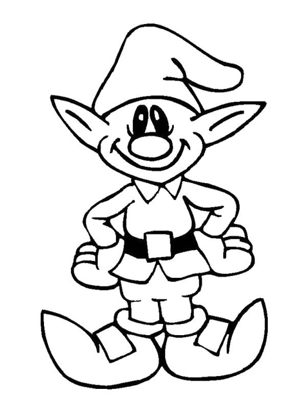 cute elf coloring pages cute elf coloring pages coloring home pages elf coloring cute
