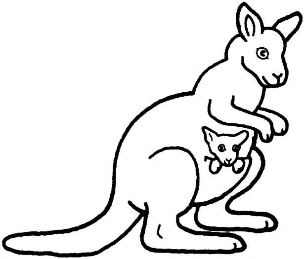 cute kangaroo coloring page coloring pages little cute kangaroo runs stock cute kangaroo page coloring