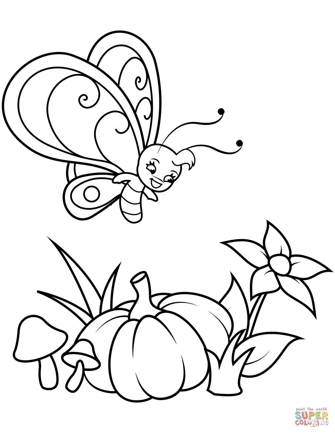 cute pumpkin coloring pages free printable pumpkin coloring pages for kids cool2bkids coloring pumpkin cute pages