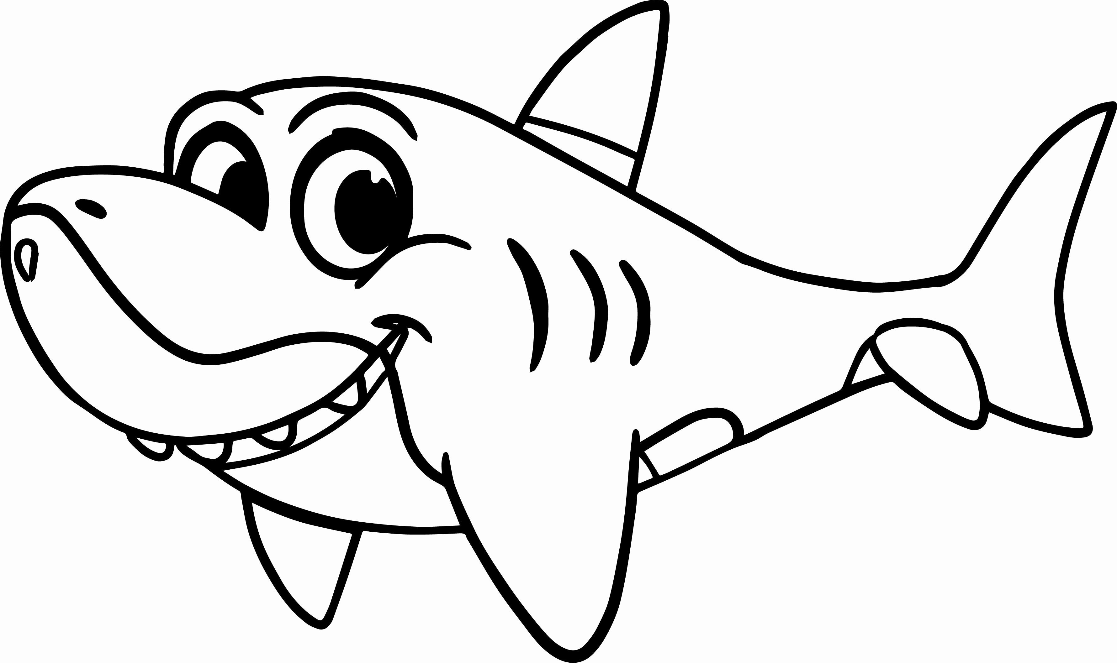 cute shark coloring pages clark the shark coloring pages at getcoloringscom free pages cute shark coloring