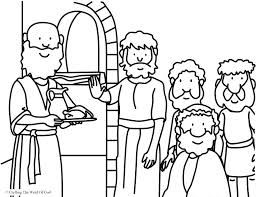 daniel eats vegetables coloring sheet daniel and his friends obey god printable sundayschoolist daniel coloring vegetables eats sheet