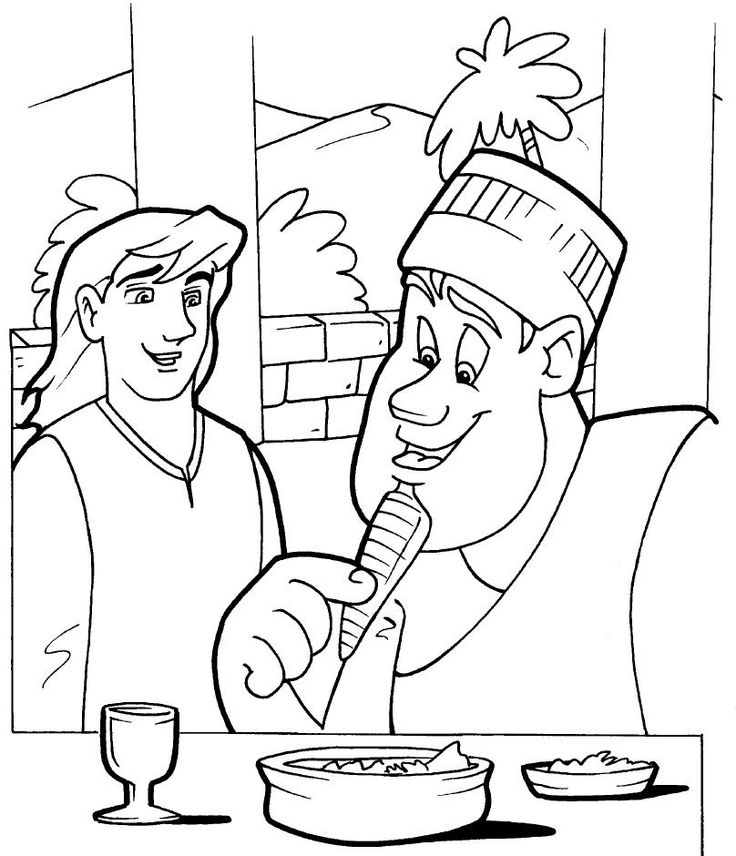 daniel eats vegetables coloring sheet daniel eats vegetables coloring page sunday school daniel vegetables sheet coloring eats