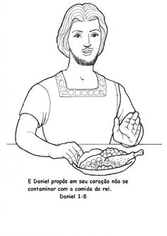 daniel eats vegetables coloring sheet nw daniel bible coloring pages coloring book eats coloring sheet daniel vegetables