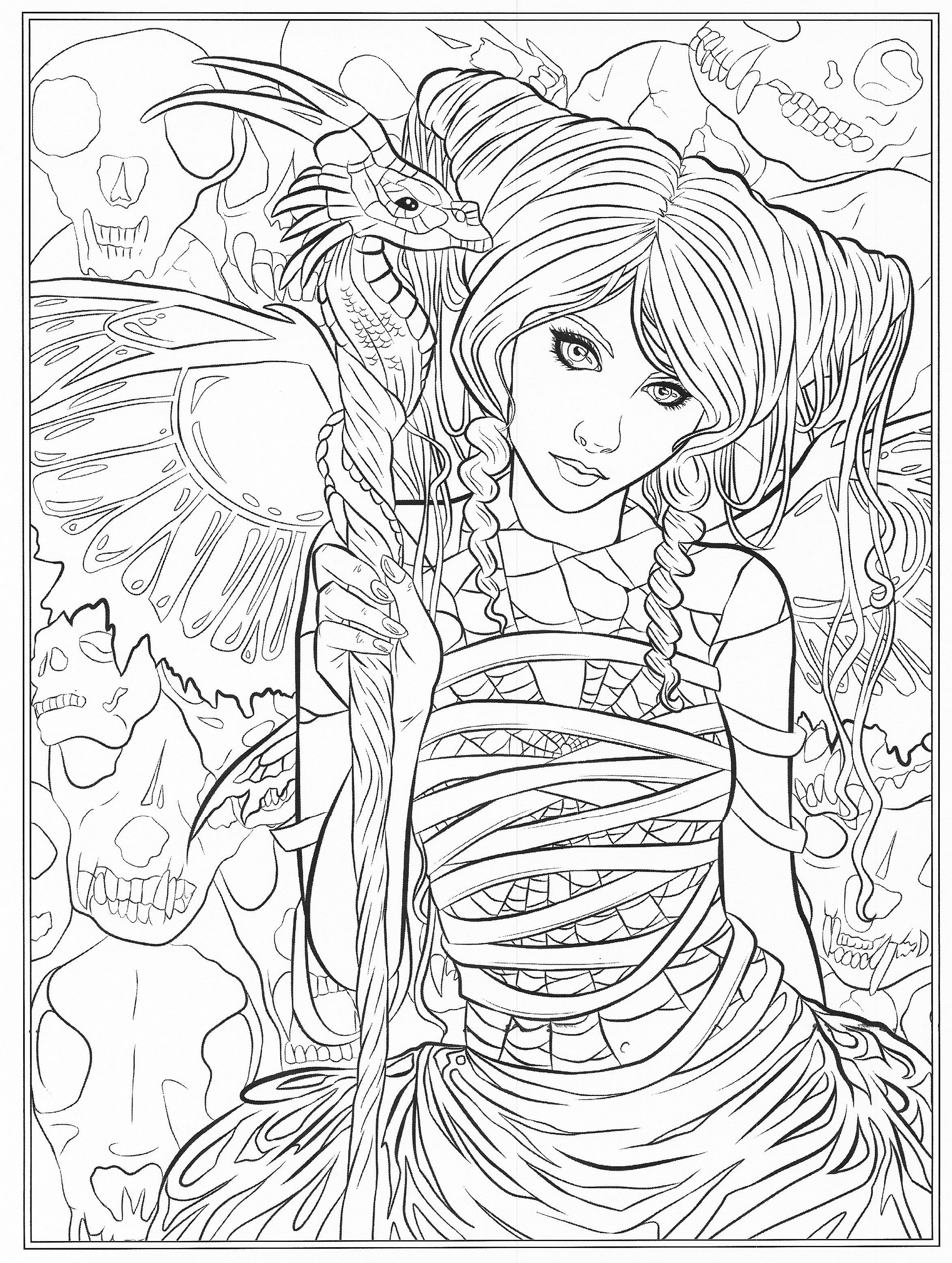 dark fairy coloring pages free gothic fairy coloring pages fairy pages dark coloring