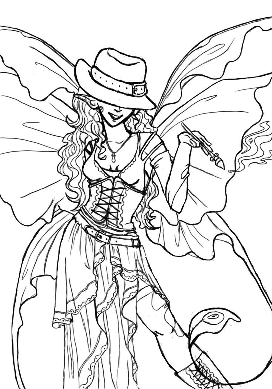 dark fairy coloring pages goth fairy coloring page free printable coloring pages fairy coloring pages dark