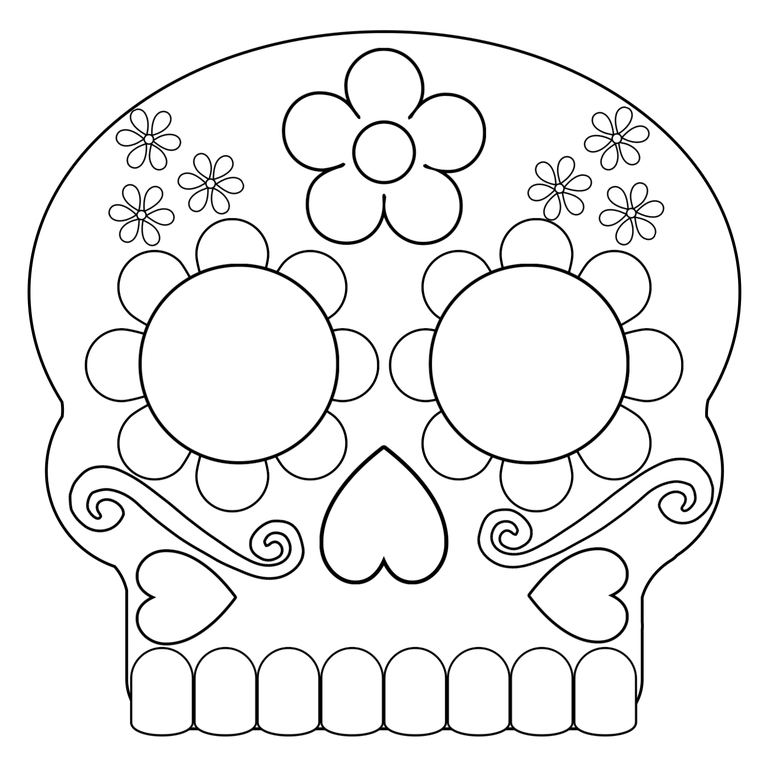 day of dead skull template day of the dead masks sugar skulls free printable day of template dead of skull day