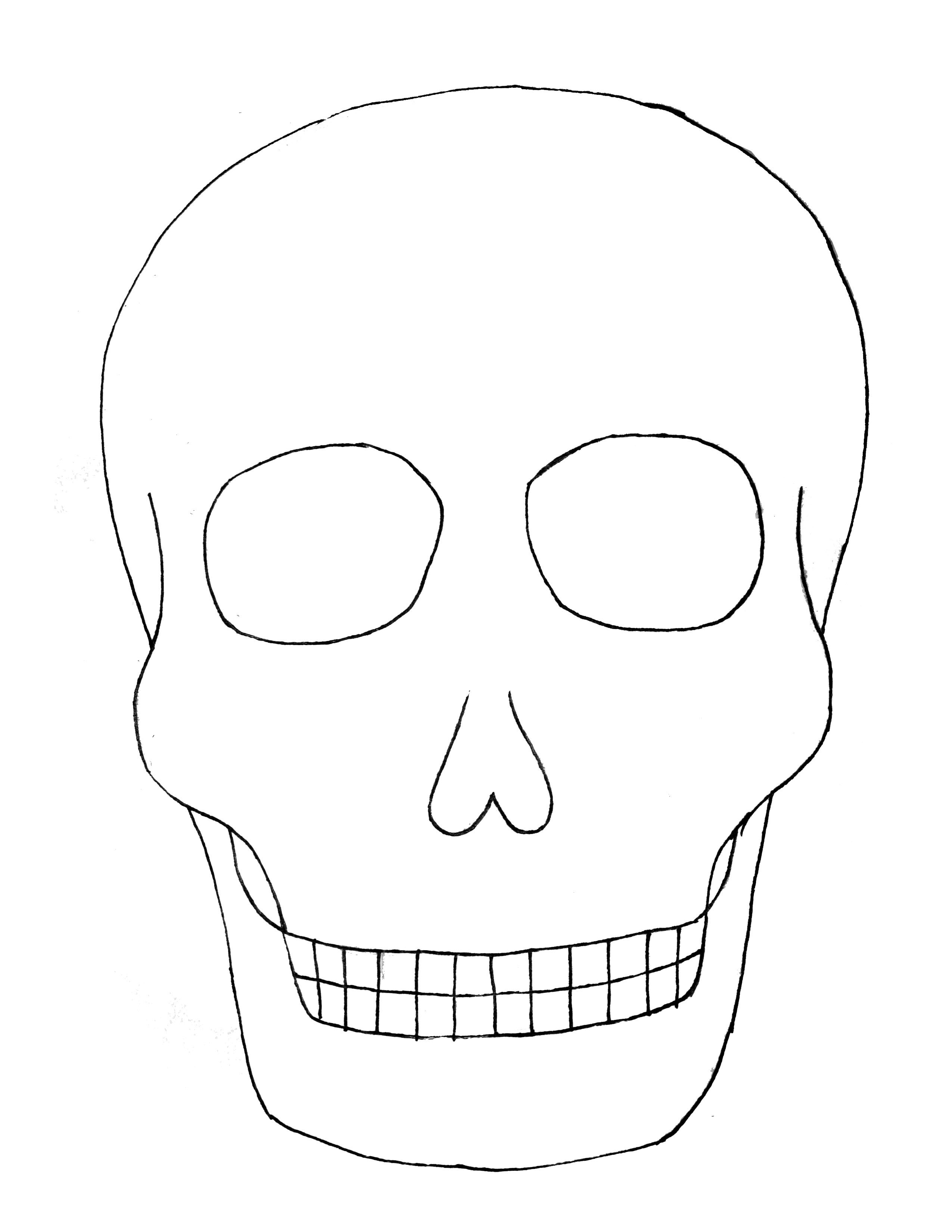day of dead skull template pin on templates day skull dead of template