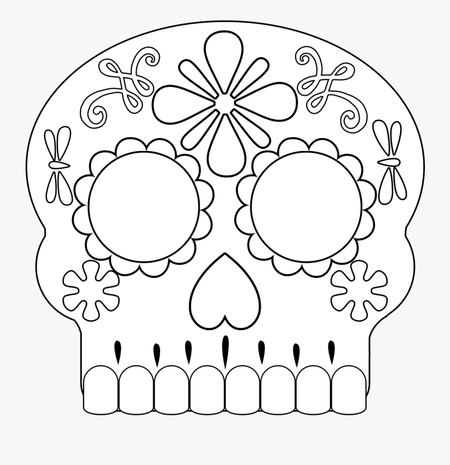 day of dead skull template printable sugar skull mask template free transparent skull dead of day template