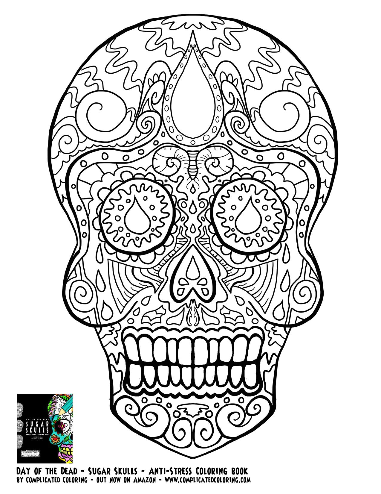 day of the dead skulls coloring pages free adult coloring pages sugar skull coloring home the of skulls pages day coloring dead