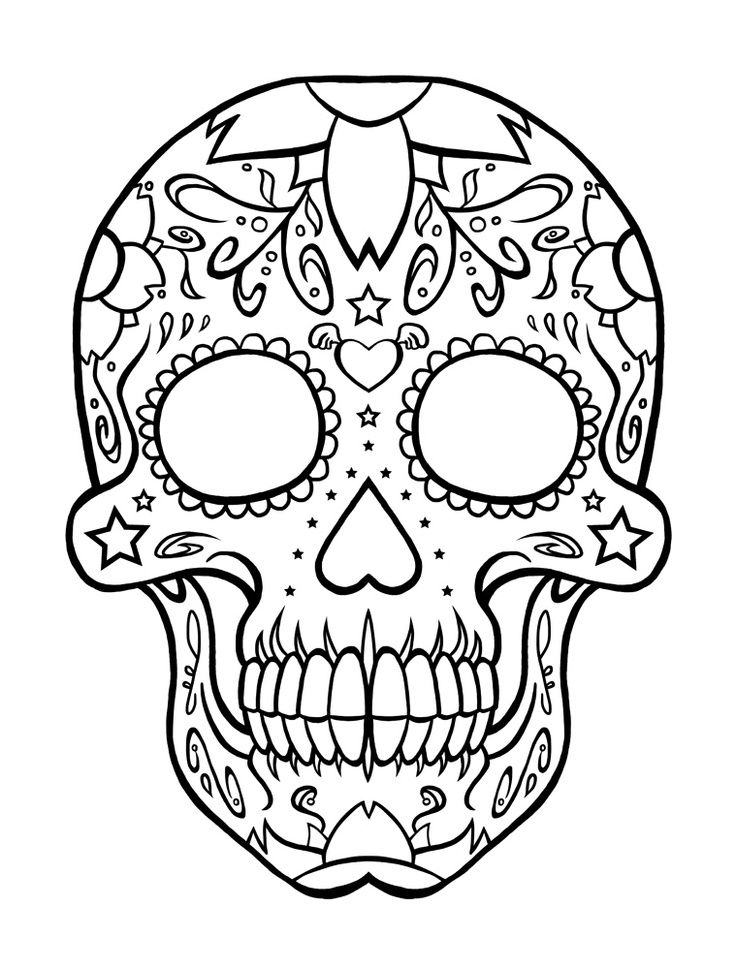 day of the dead skulls coloring pages free skulls day of the dead coloring pages adult coloring day of pages dead the skulls