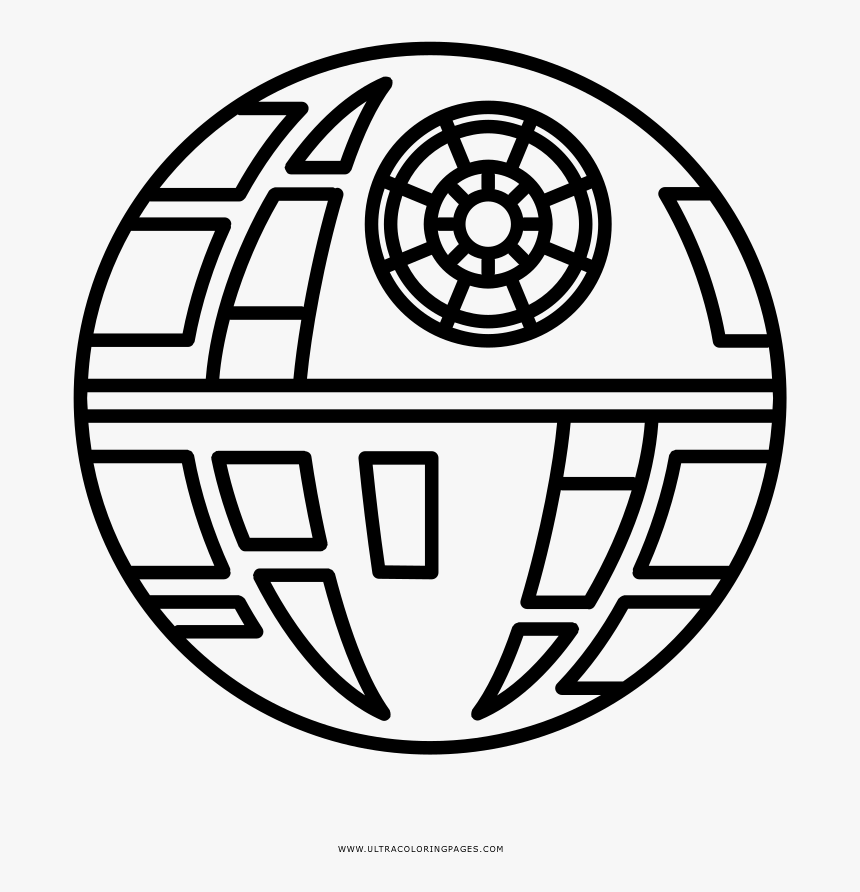 Death star coloring sheet