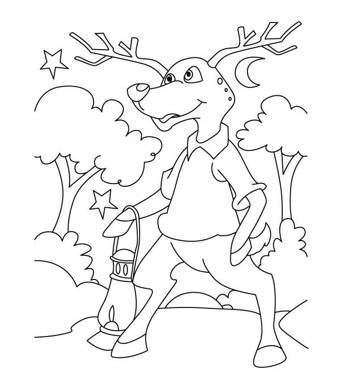 deer color pages deer coloring pages to download and print for free pages color deer
