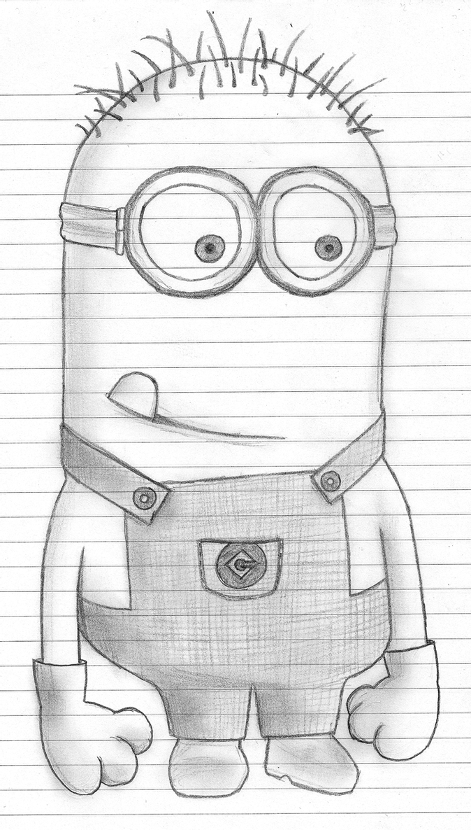 despicable me drawing despicable me character design by carter goodrich despicable me drawing