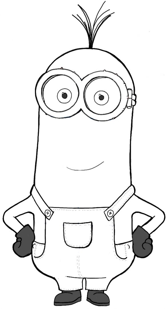 Despicable me drawing