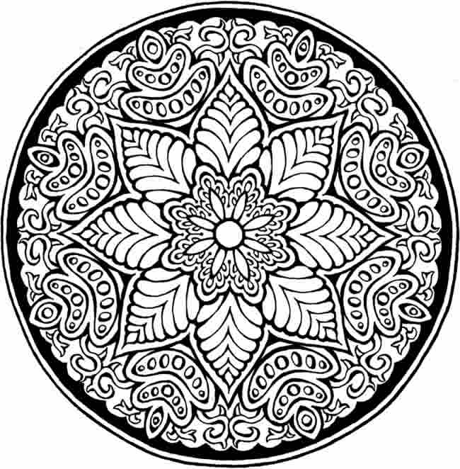 detailed mandala coloring pages 1000 images about mandala on pinterest dovers coloring coloring detailed pages mandala