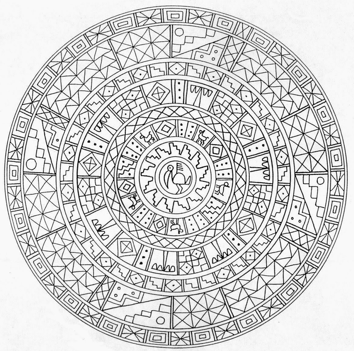 detailed mandala coloring pages coloring pages difficult but fun coloring pages mandala mandala coloring detailed pages