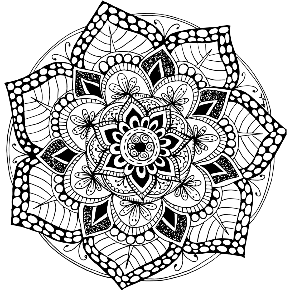 detailed mandala coloring pages coloring to calm volume one mandalas coloring pages mandala detailed