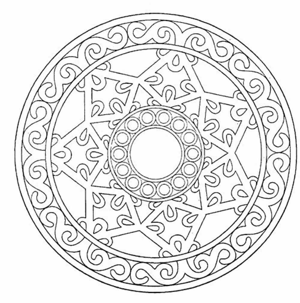 detailed mandala coloring pages detailed mandala coloring pages for adults at getdrawings coloring mandala pages detailed
