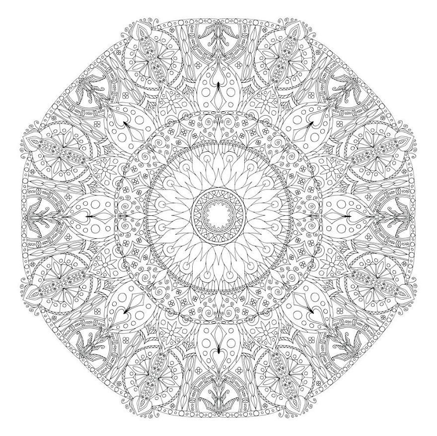 detailed mandala coloring pages geometric mandala coloring page babadoodle pages detailed mandala coloring