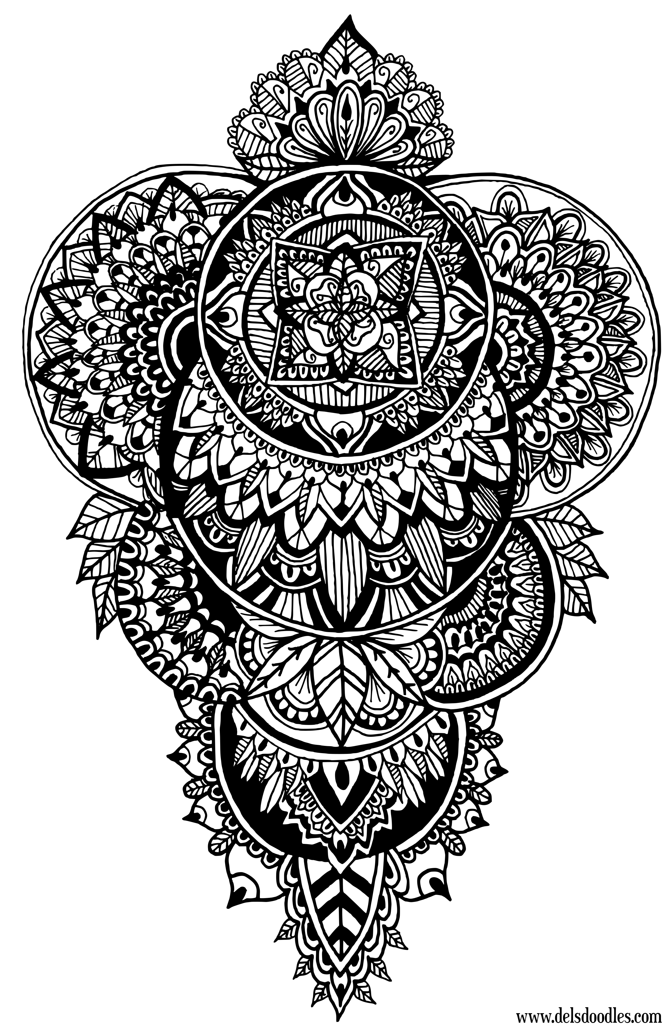 detailed mandala coloring pages welcome to dover publications designs coloring books coloring mandala detailed pages