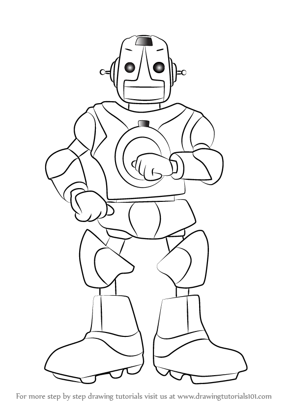 detailed robot coloring pages atom the main character robot that can show real robot coloring pages detailed