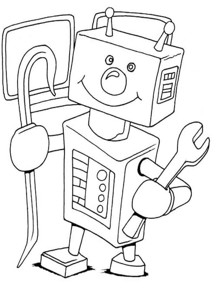 detailed robot coloring pages cool robot coloring pages at getdrawings free download robot coloring detailed pages
