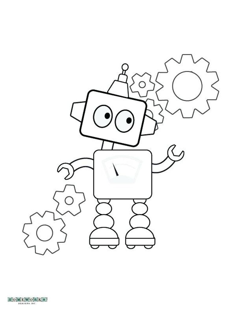 detailed robot coloring pages cool robot coloring pages at getdrawings free download robot detailed pages coloring